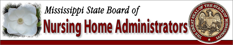 MS Board of Nursing Home Administrators